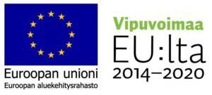 EAKR ja EU vipuvoimaa 2014-2020 logot
