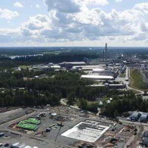 Harjavallan suurteollisuuspuisto.