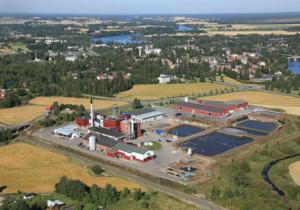 Finnamylin biotalouteen perustuva tuotantolaitos Kokemäellä.