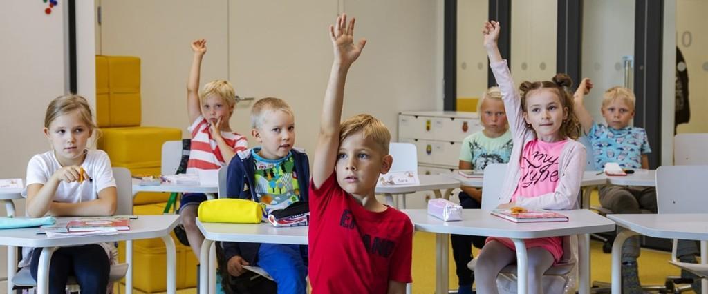Koulutyö alkoi uudessa Pohjoiskehän koulussa elokuussa 2019.