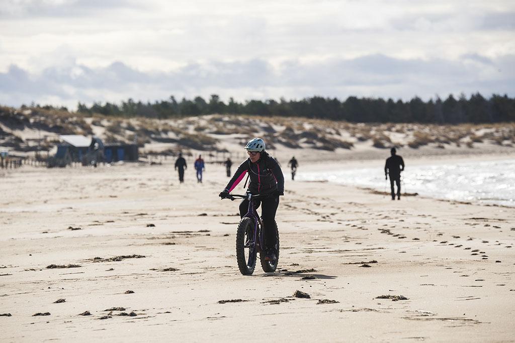 Maastopyöräily Yyteri