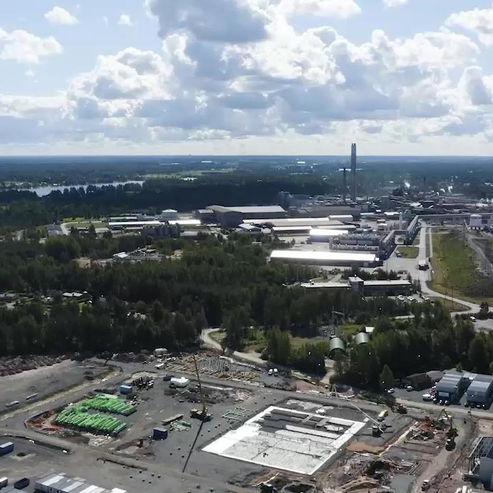 BASF akkumateriaalitehdas Harjavallassa